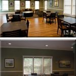Before and After: Living Room at Kentland's Clubhouse