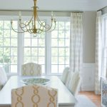 Undulating Line and Color in the Dining Room