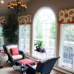Original Drapery Designs in Sunroom