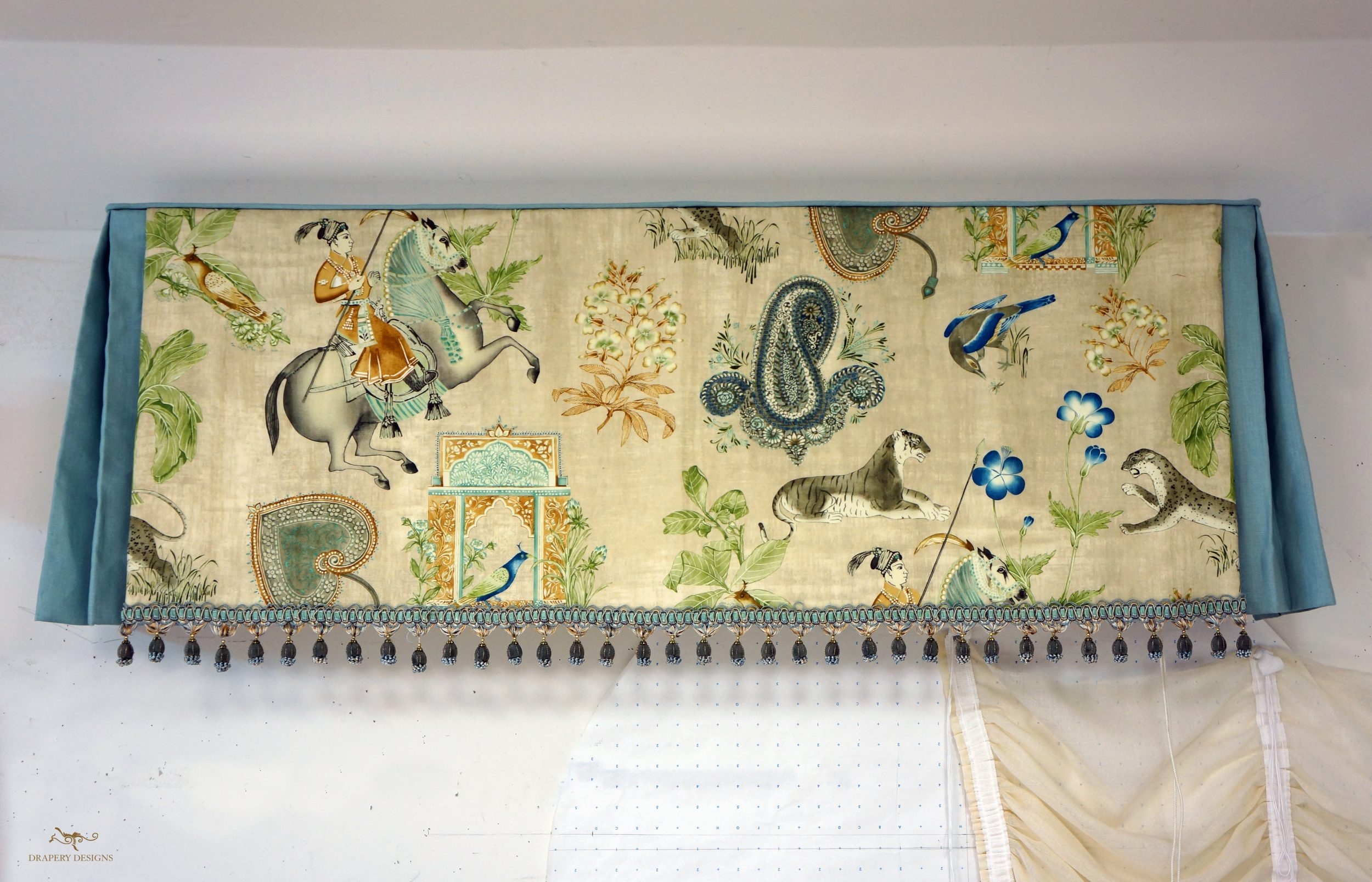 Layered Valance with Trim Alterations 01